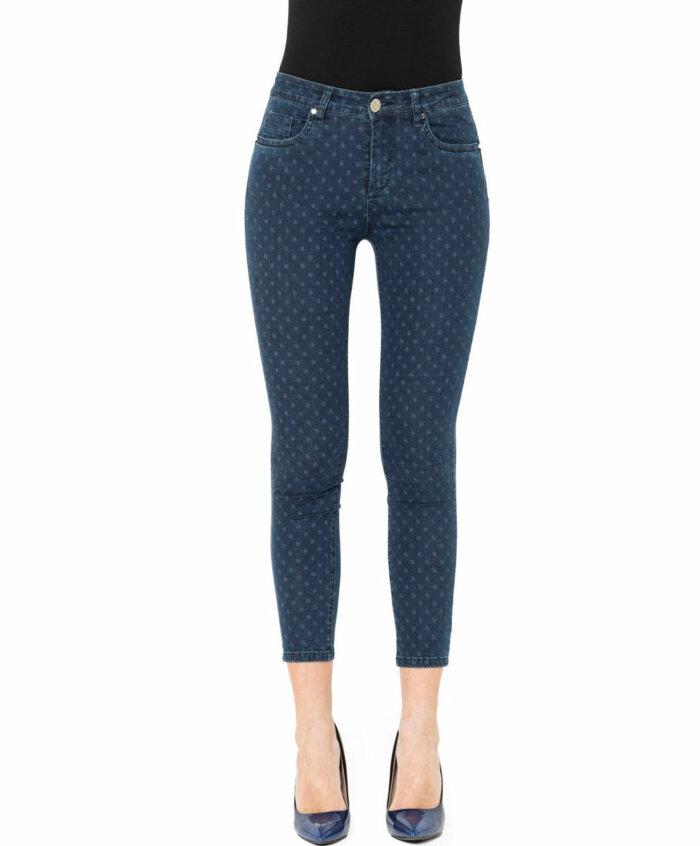 Παντελόνι jean πουά