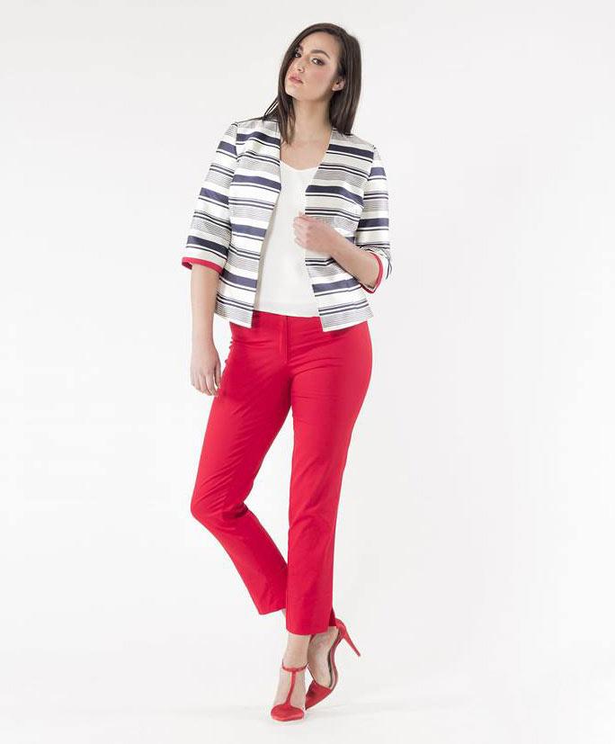 Παντελόνι υφασμάτινο κόκκινο2
