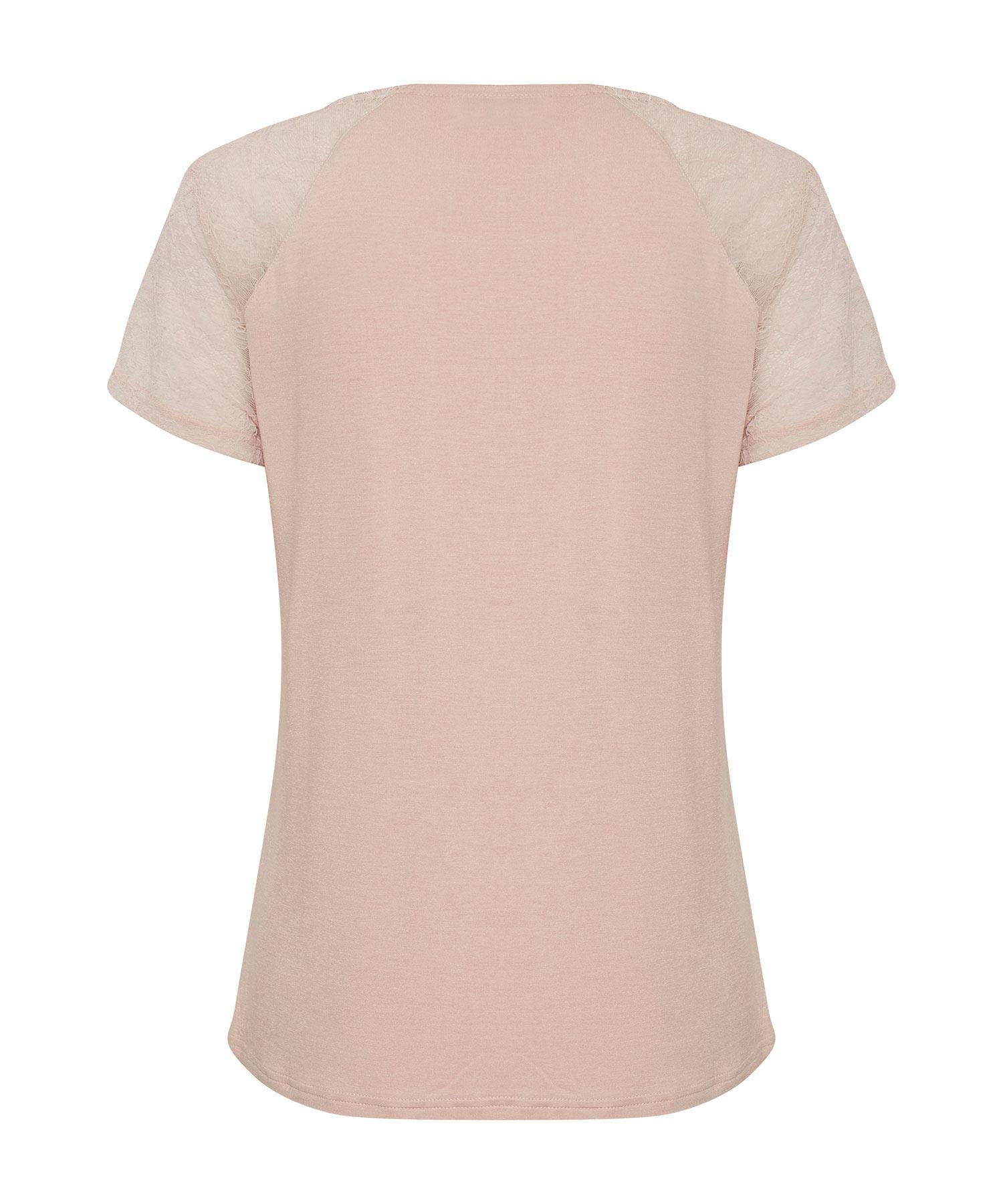 T-shirt με δαντέλα