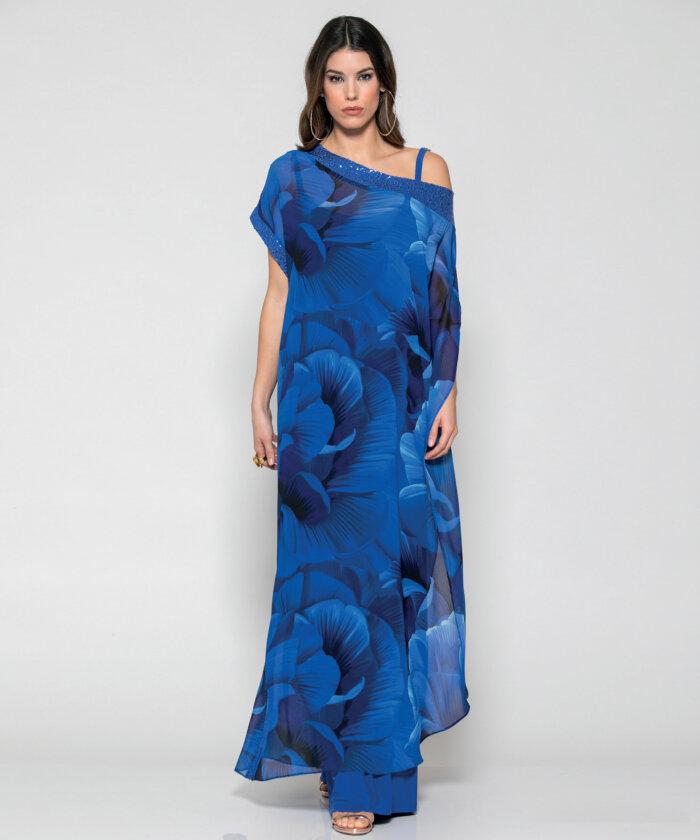50d9f2ab06dc Φόρεμα Καφτάνι Εμπριμέ   Vaya Fashion Boutique
