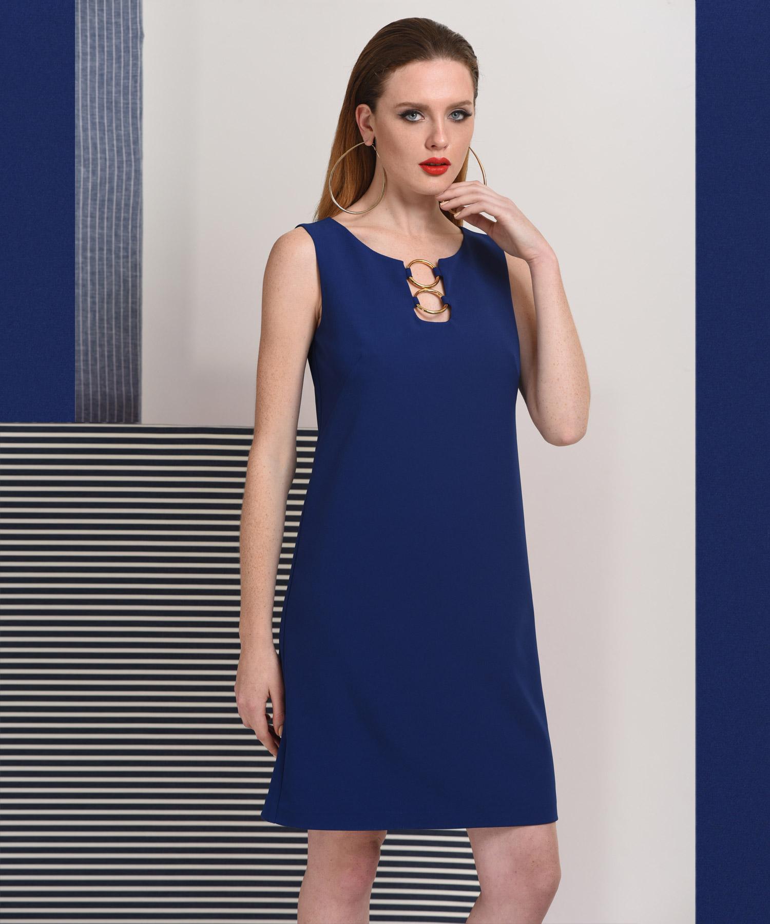657fa7b551ba Φόρεμα με Κρίκους