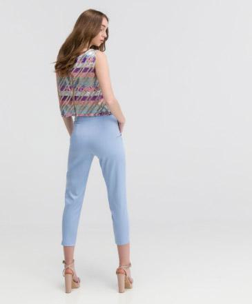 Παντελόνι Γαλάζιο Ψηλόμεσο