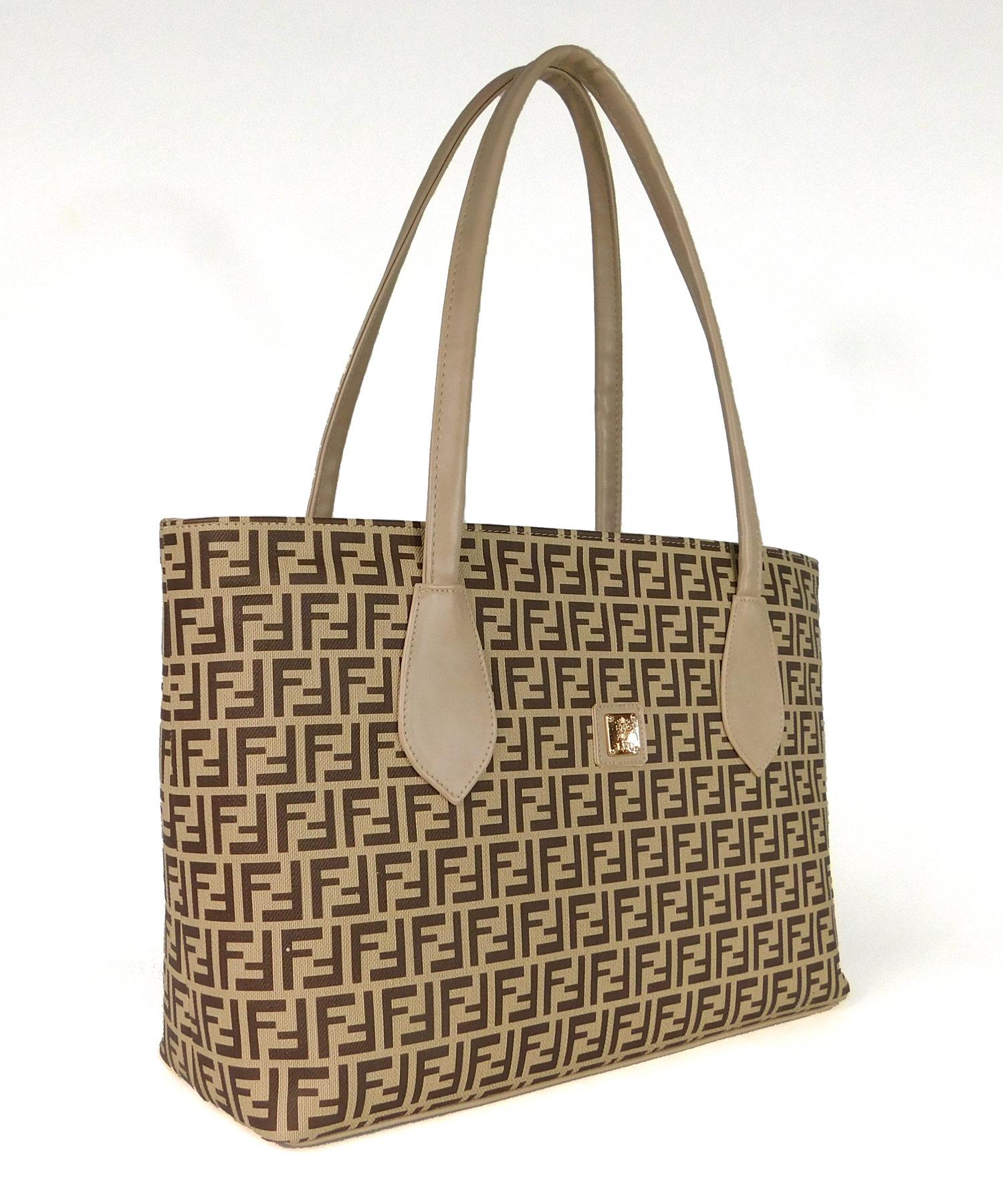 Τσάντα Ώμου Μπεζ
