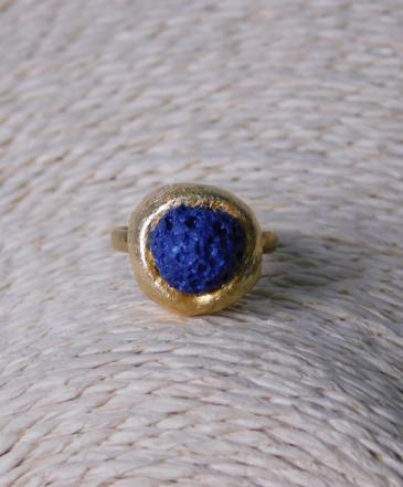 Δαχτυλίδι με Πέτρα Λάβας