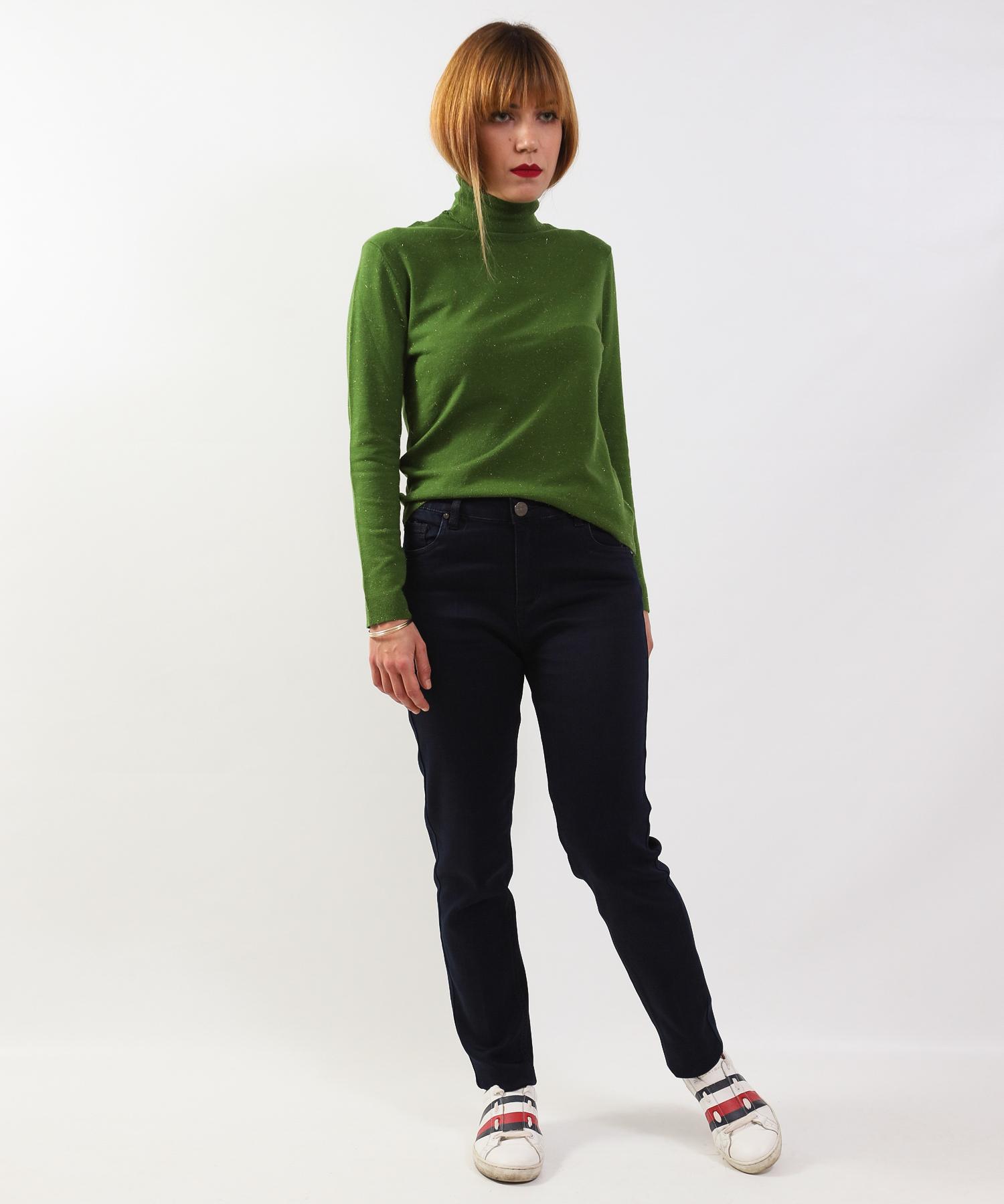 Μπλούζα Πλεκτή Ζιβάγκο Πράσινη