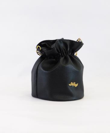 Τσαντάκι Πουγκί Μαύρο