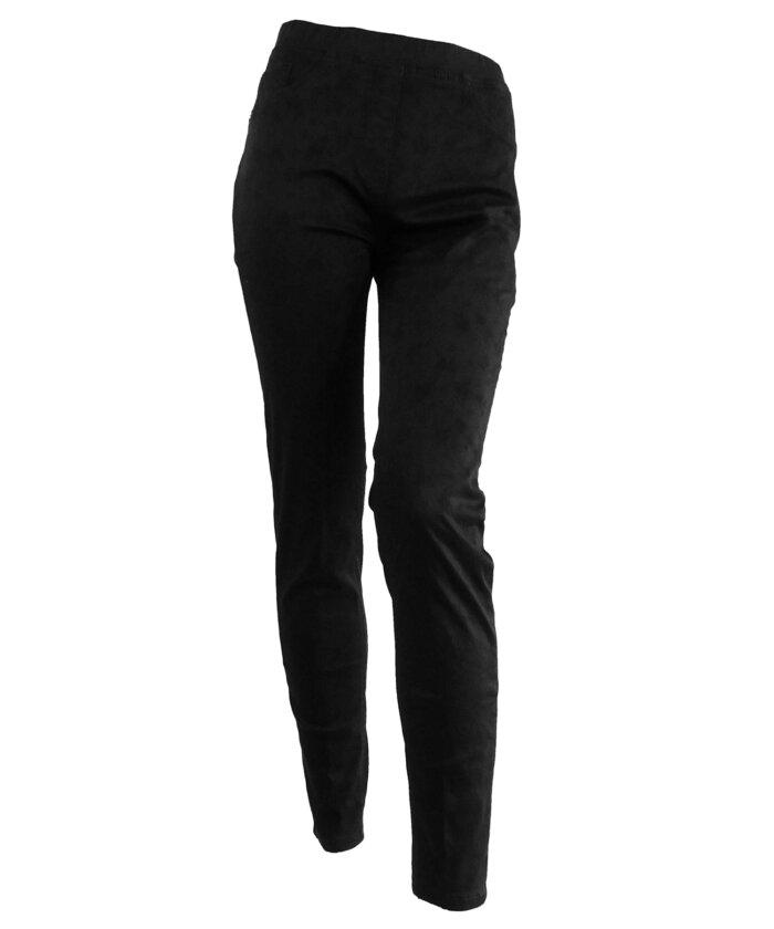μαυρο φλοράλ παντελόνι