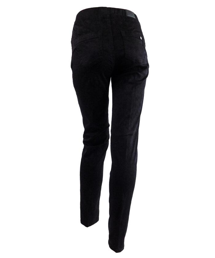 παντελόνι μαυρο φλοράλ