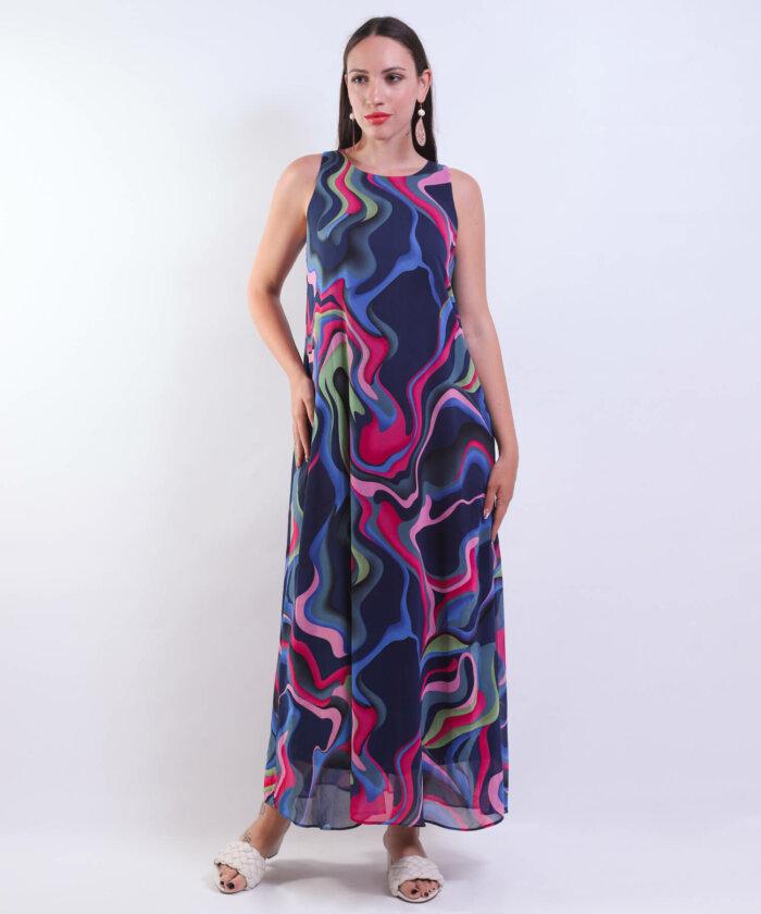 Φόρεμα Εμπριμέ Boho