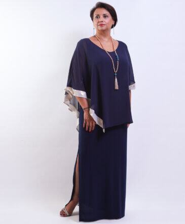 Φόρεμα Μάξι με Τουνίκ